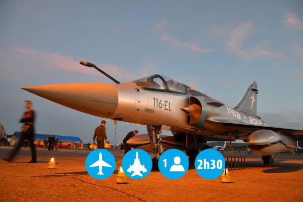 Pack Ultime 2H30 sur 2 avions (mirage 2000 et B 777)