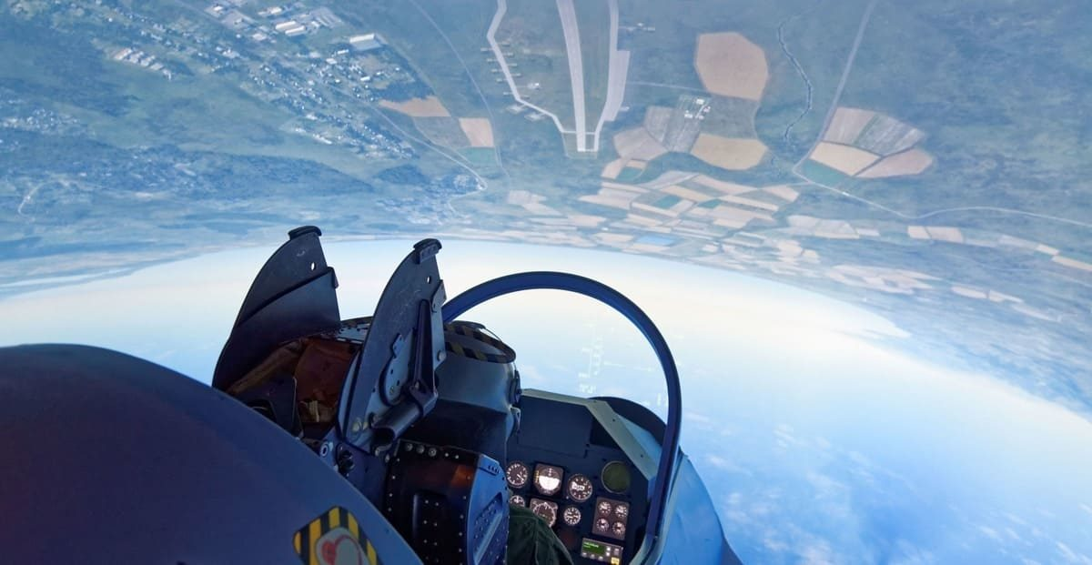 Loopings Mirage 2000 simulateur