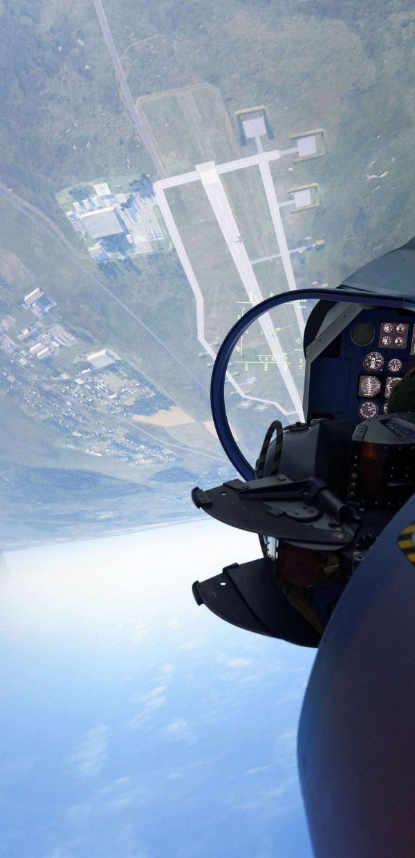 Loopings dans le cockpit d'un Mirage 2000