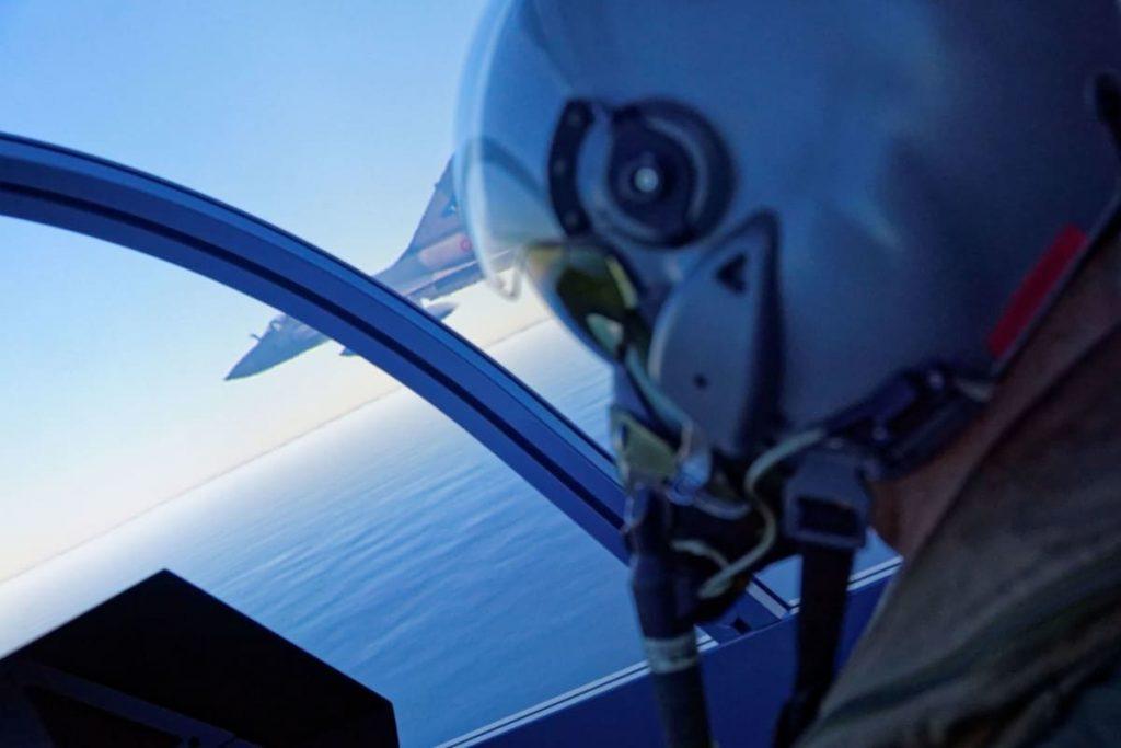 Un combat se prépare sur un Mirage 2000
