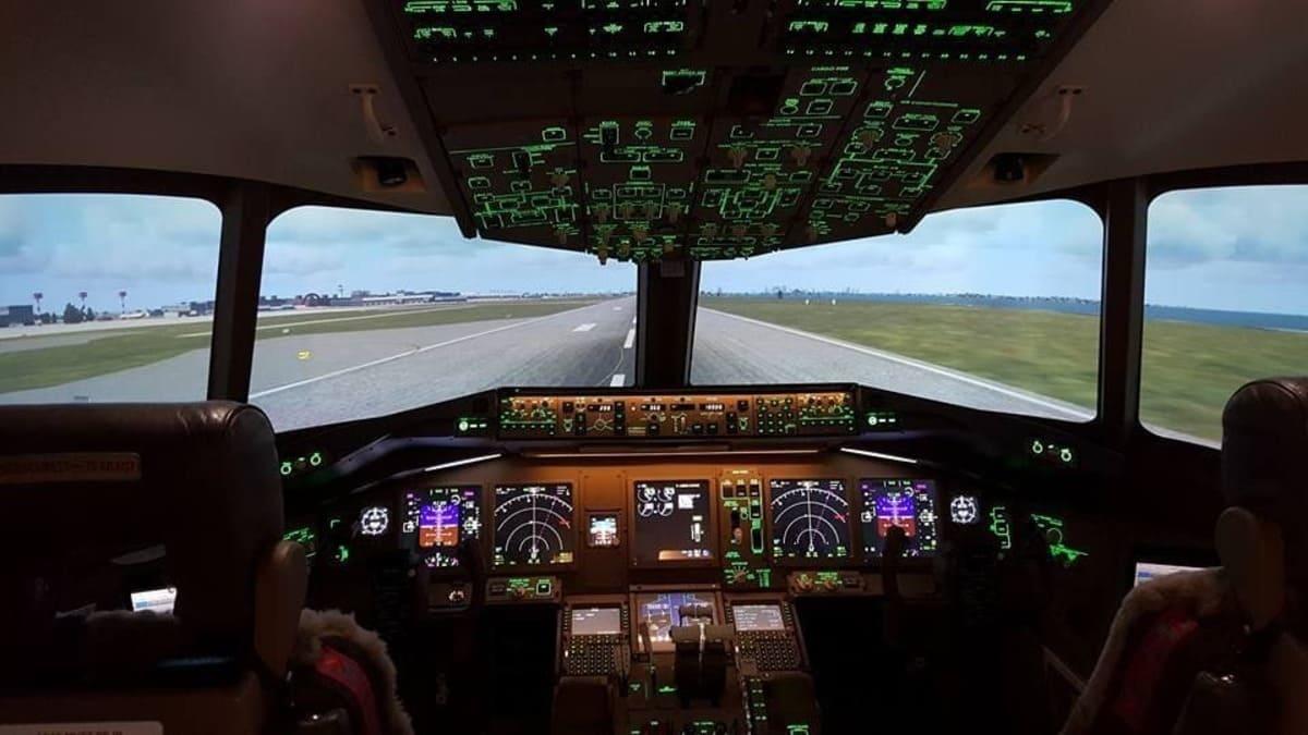 Prêt à décoller ! Simulateur B 777