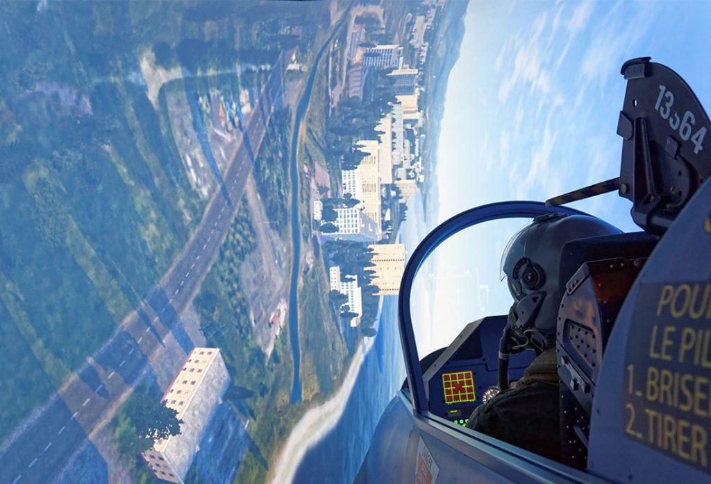 Simulateur mirage 2000 en combat