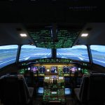 Cockpit du Boeing 7777 de skyway simulation
