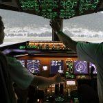 Pilote avion d eligne
