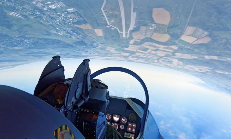 Loopings Mirage 2000 simulateur