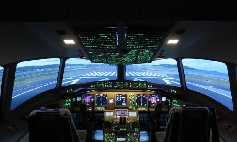 Commandes du B 777
